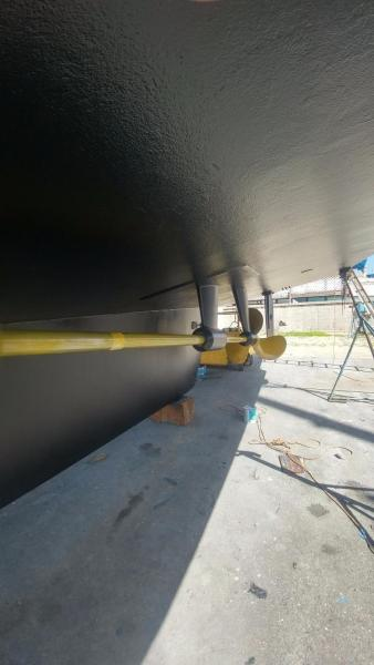 prop speed port shaft
