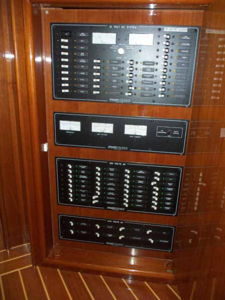 Galley Electrical Panel