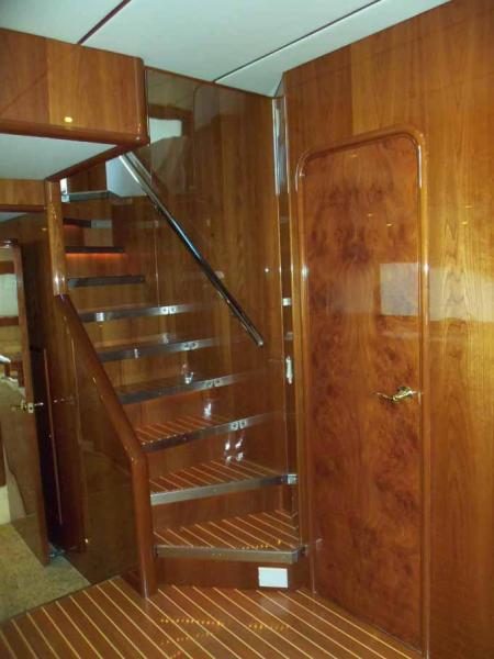 Sky Lounge Access Stairs