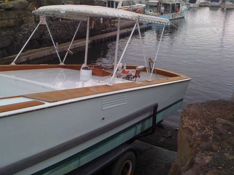 Rybovich Custom Boat 1979 Ha'aviti Launching