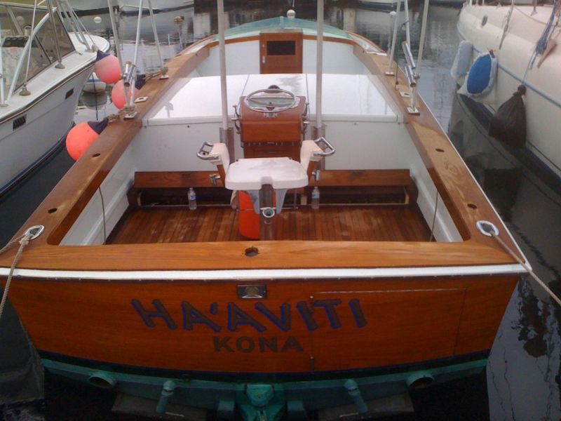 Rybovich Custom Boat 1979 Ha'aviti First Launch and Refit