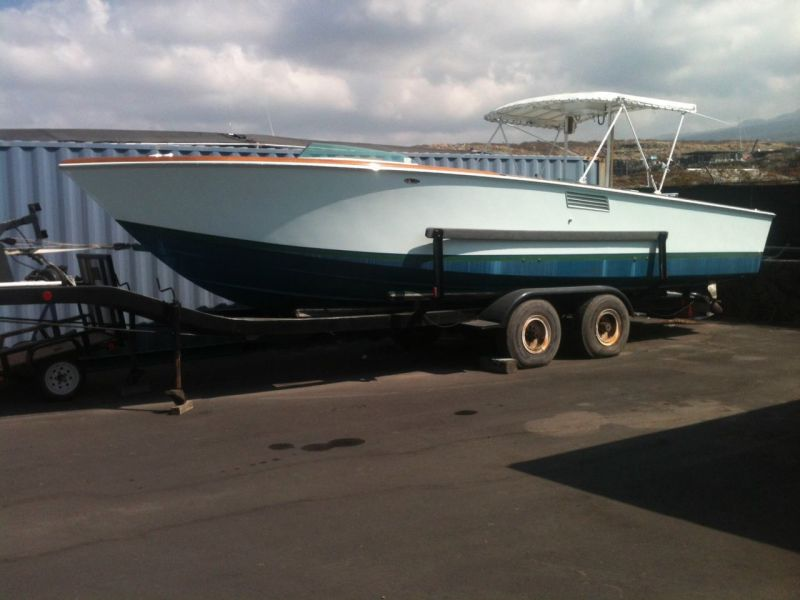 Rybovich Custom Boat 1979 Ha'aviti With Bottom Paint