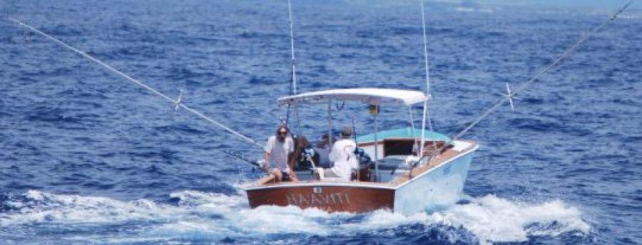 Rybovich Custom Boat 1979 Ha'aviti Trolling Transom