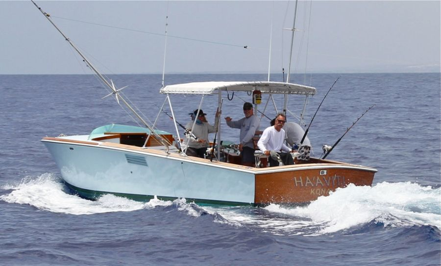 Rybovich Custom Boat 1979 Ha'aviti Fishing