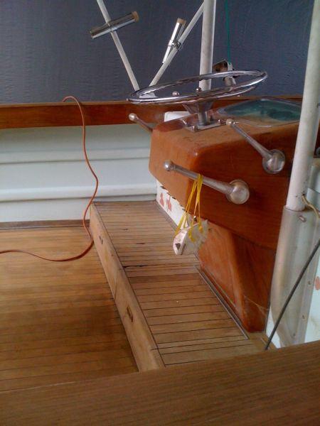 Rybovich Custom Boat 1979 Ha'aviti Helm