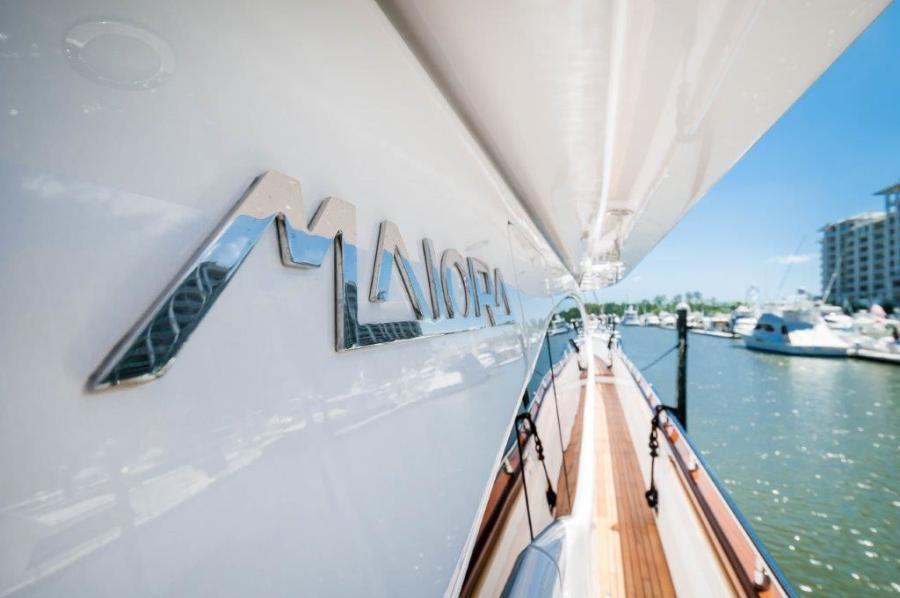 2015 Maiora 84 Motor Yacht Logo Never Rest