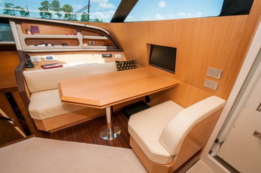 2015 Maiora 84 Motor Yacht Chart Table Never Rest
