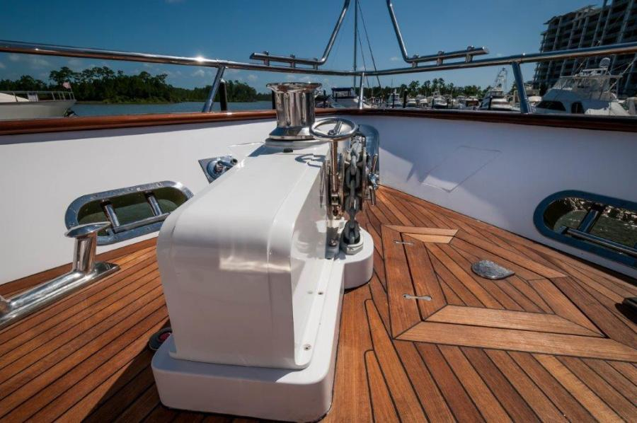 2015 Maiora 84 Motor Yacht Fore Castle Never Rest