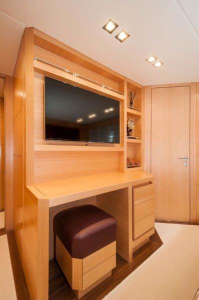 2015 Maiora 84 Motor Yacht Master Stateroom Never Rest