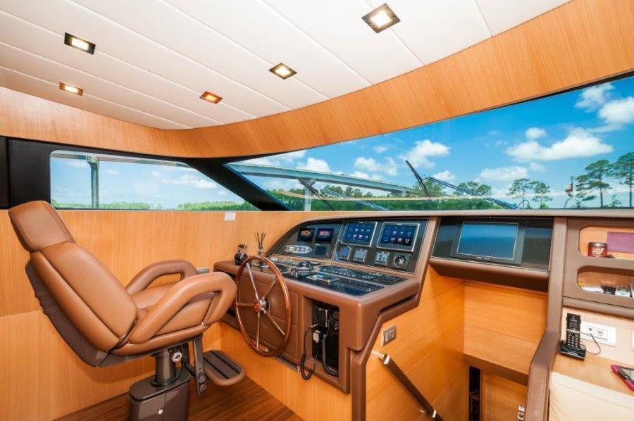 2015 Maiora 84 Motor Yacht Pilot House  Never Rest