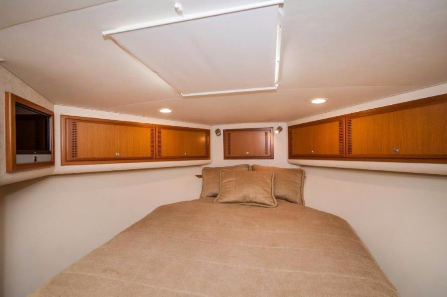 2008 45' Cabo Express Sea J's Passion Forward Stateroom