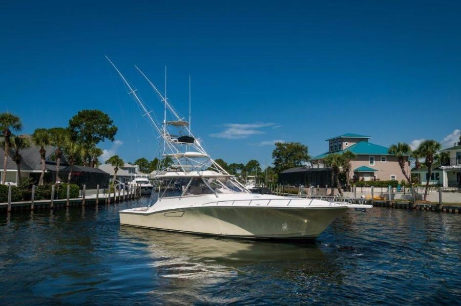 2008 45' Cabo Express Sea J's Passion Starboard Profile