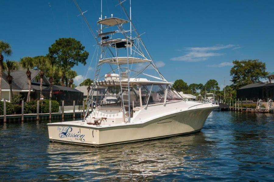 2008 45' Cabo Express Sea J's Passion Starboard Quarter