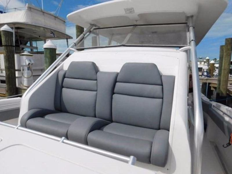 Forward Seating in Center Console