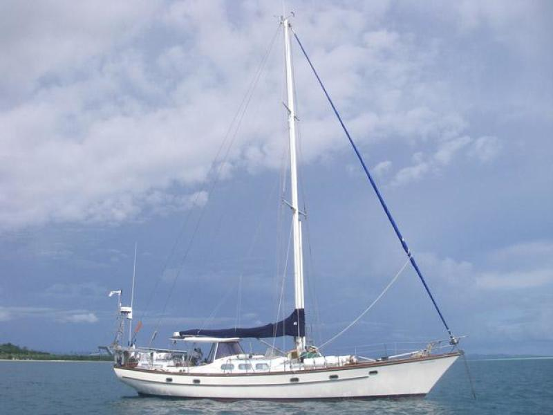 photo of 52' Herreshoff sloop 1979