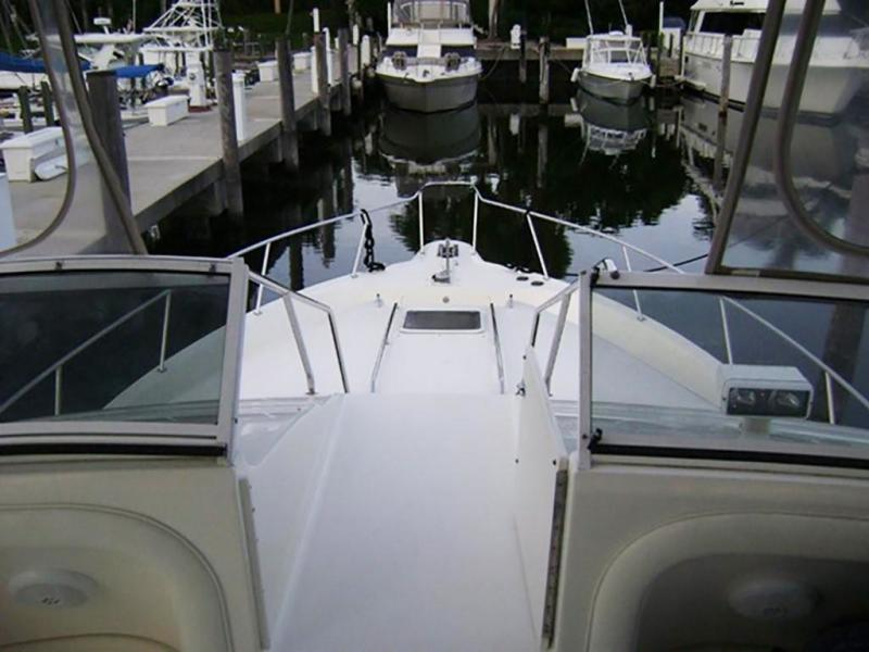 Access to Foredeck