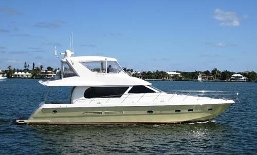 Horizon-Motor Yacht 2002-SATORI Daytona Beach-Florida-United States-Profile-1383354-featured
