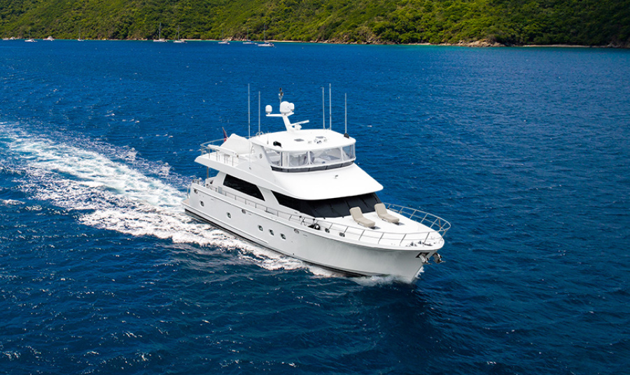 photo of 78' Ocean Alexander 74' Pilothouse Motor 2010