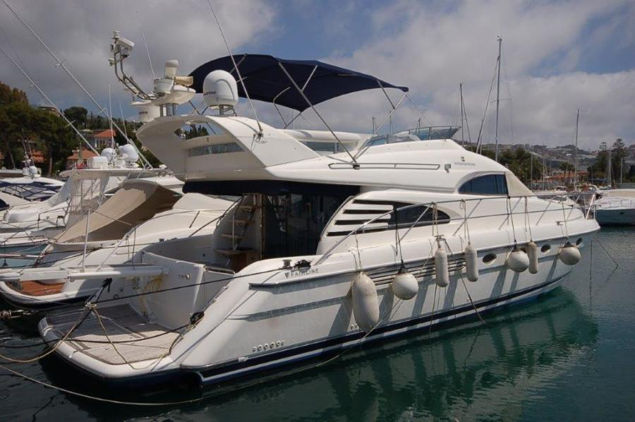 2004 Fairline Squadron 55 SYS YACHT SALES