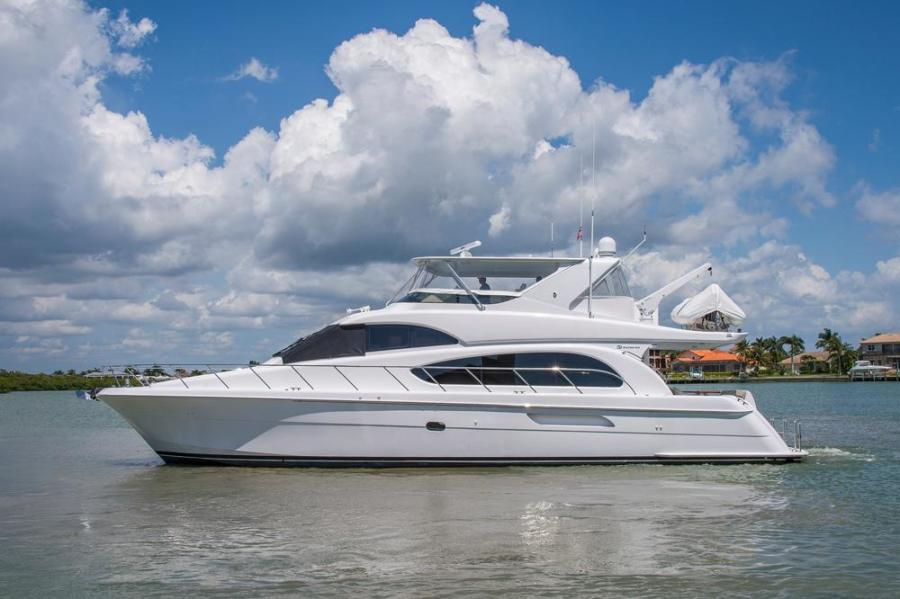 Hatteras-64 Motor Yacht 2008-LONE STAR  reserved Marco Island-Florida-United States-Port Profile-325744-featured