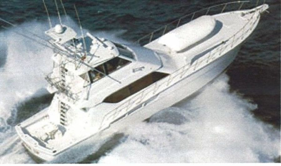 Hatteras-Enclosed Bridge Convertible 1999 1999-Reel Time Mobile-Alabama-United States-Photo 1-350489-featured