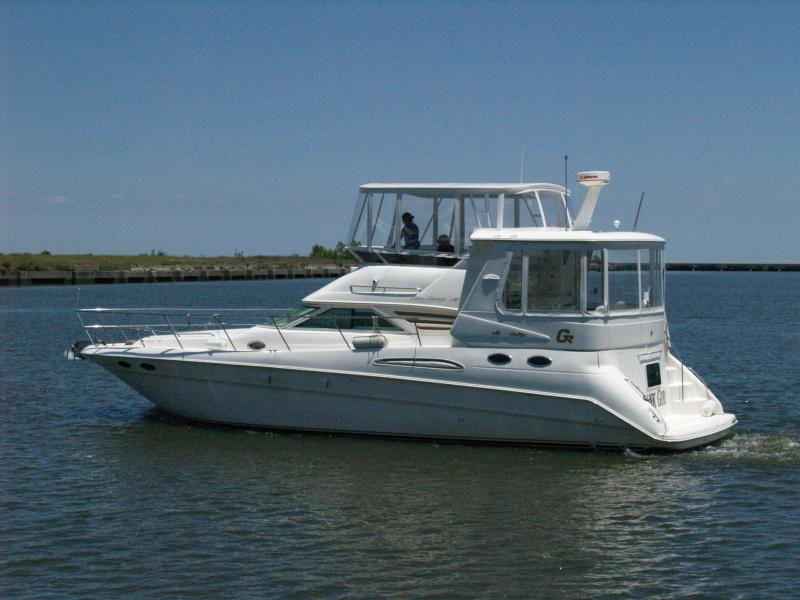 Sea Ray-420 Aft Cabin 1997-Thank God New Orleans-Louisiana-United States-350575-featured