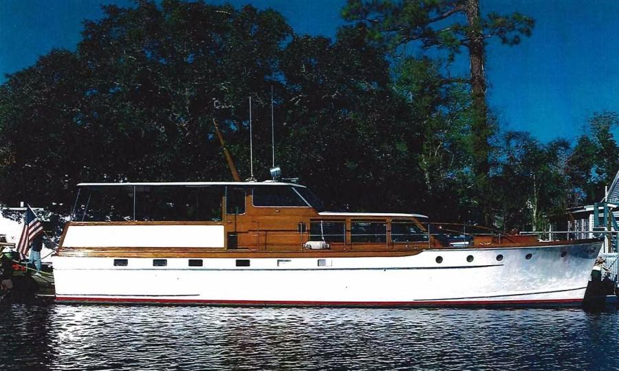 photo of 57' Trumpy Flush Deck Cruiser 1958