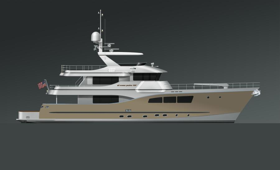 Photo of 100' Custom Tri-Deck Explorer Yacht 2021