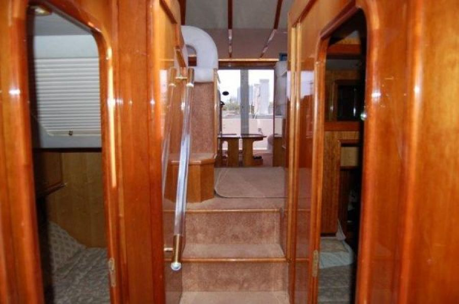 Gulf Craft Stairs to Staterooms