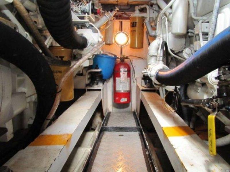 Gulf Craft Engine Room