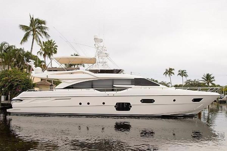 photo of 69' Ferretti Yachts 690 2014