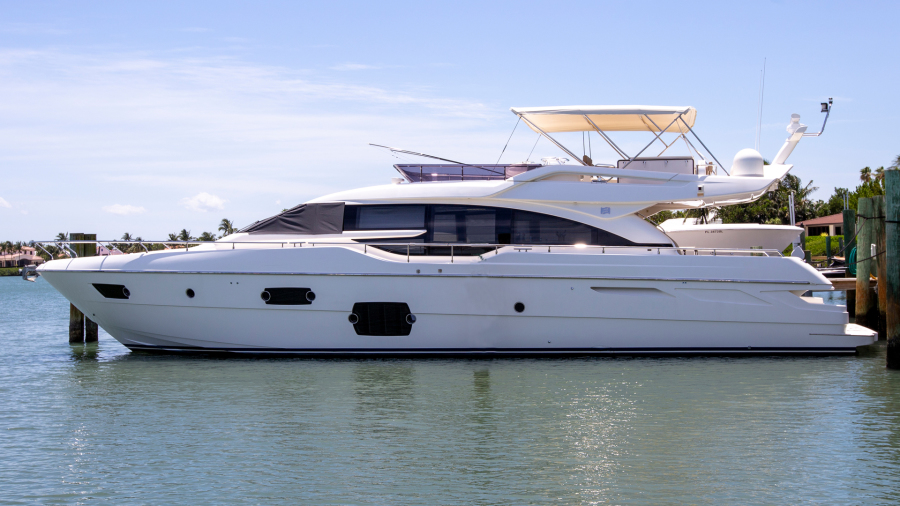 photo of 69' Ferretti Yachts 690 2014