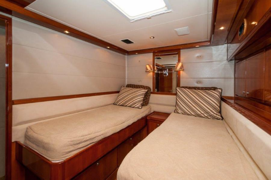 2003 67 Bertram Convertible Brittany Jean Guest Stateroom