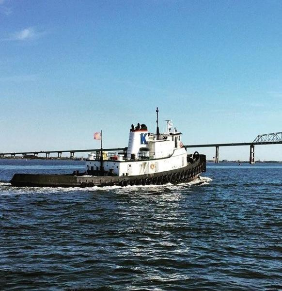 Photo of 110' Custom 3,300 hp Tug 1956