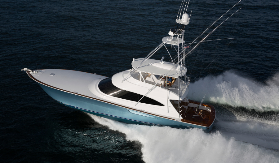 Viking-72 Convertible 2020-NEW BUILD Enroute to Staten Island , NY-United States-Port Side-1203985-featured