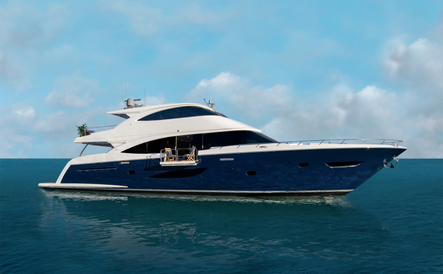 Viking-93 Motor Yacht 2020-NEW BUILD NEW BUILD-New York-United States-Starboard Side-1203962-featured