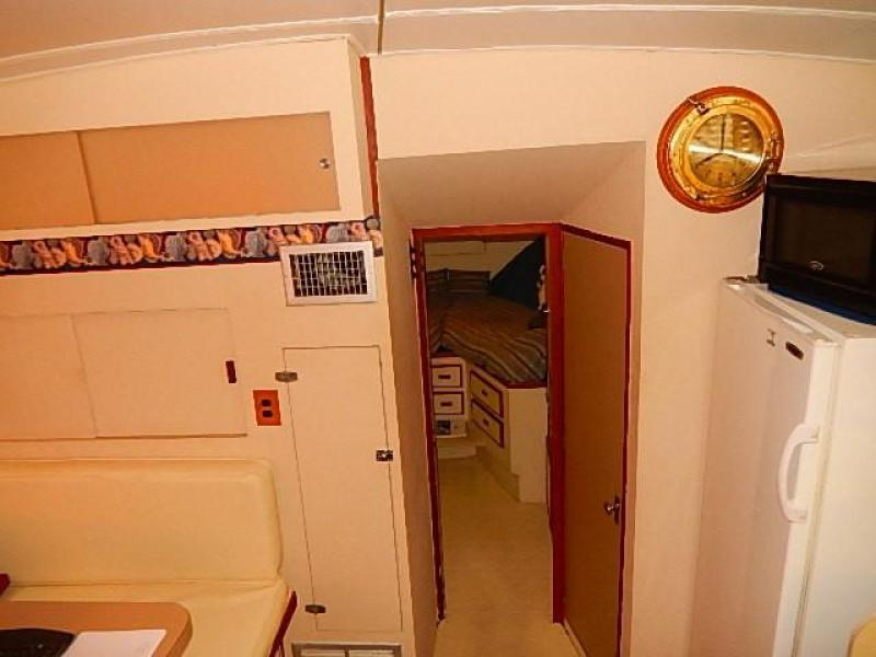 Forward guest stateroom/ head and stall shower