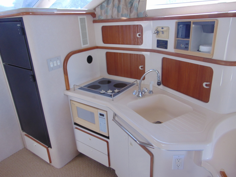 Spacious and Bright Galley Area