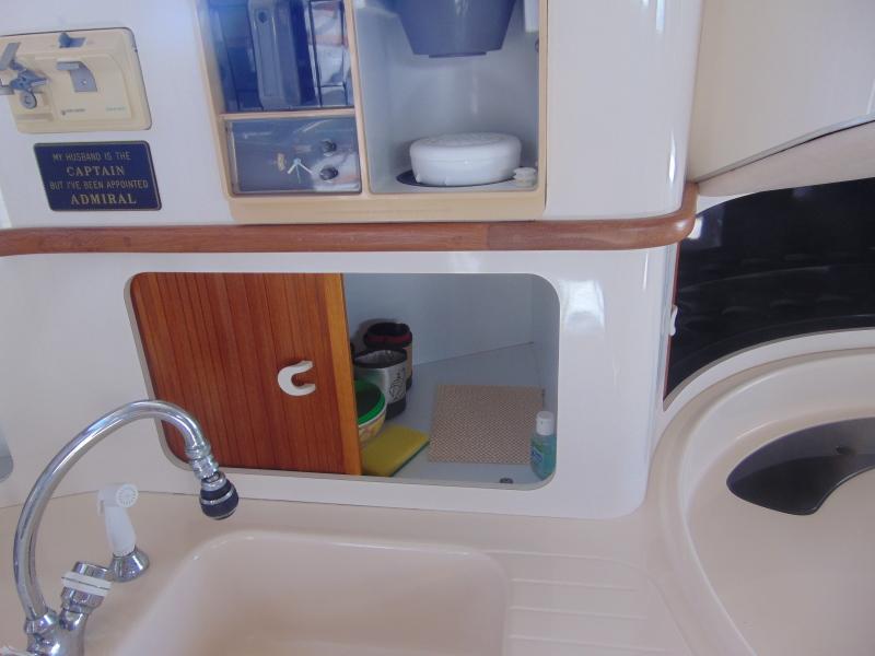 Behind the Sink Storage