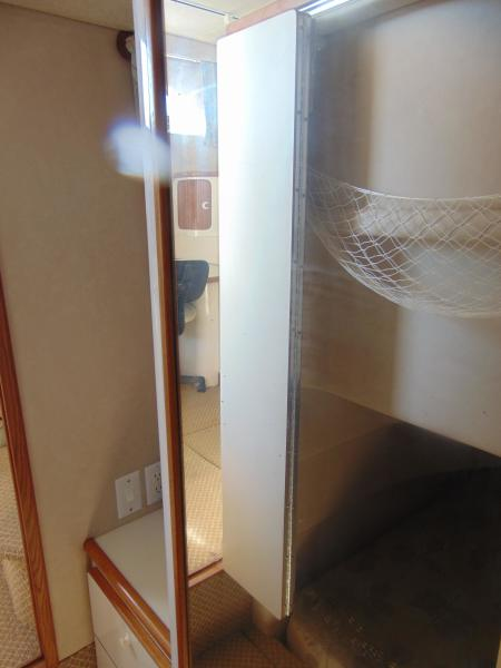 Guest Closet and Bureau Area