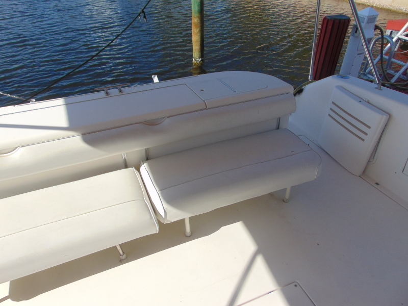 Stern Seating and Swim Door
