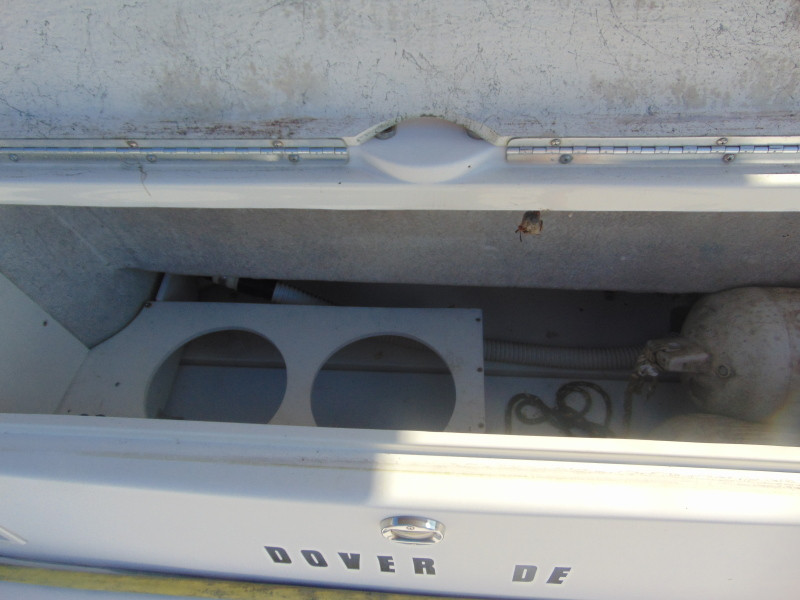Bumper Storage at the Transom