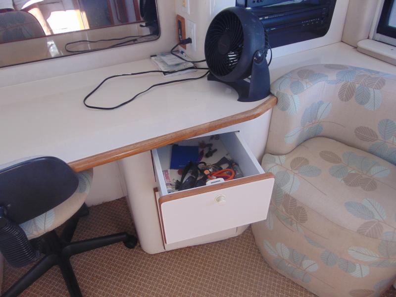 Storage Drawers at Work Desk