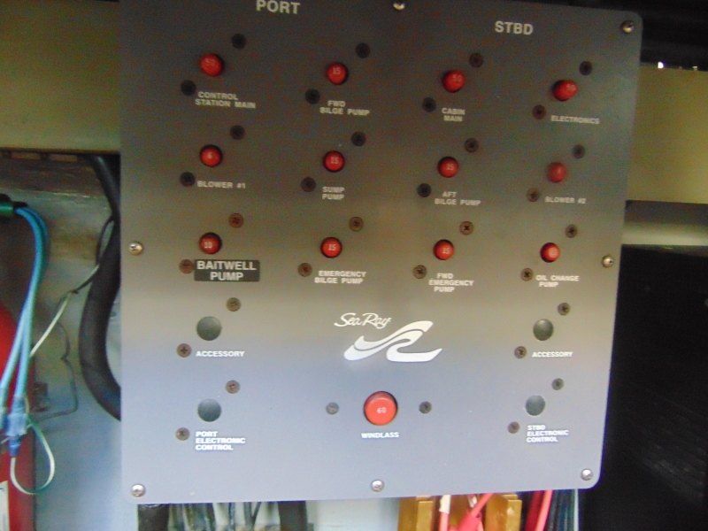 Engine Room Control Panel