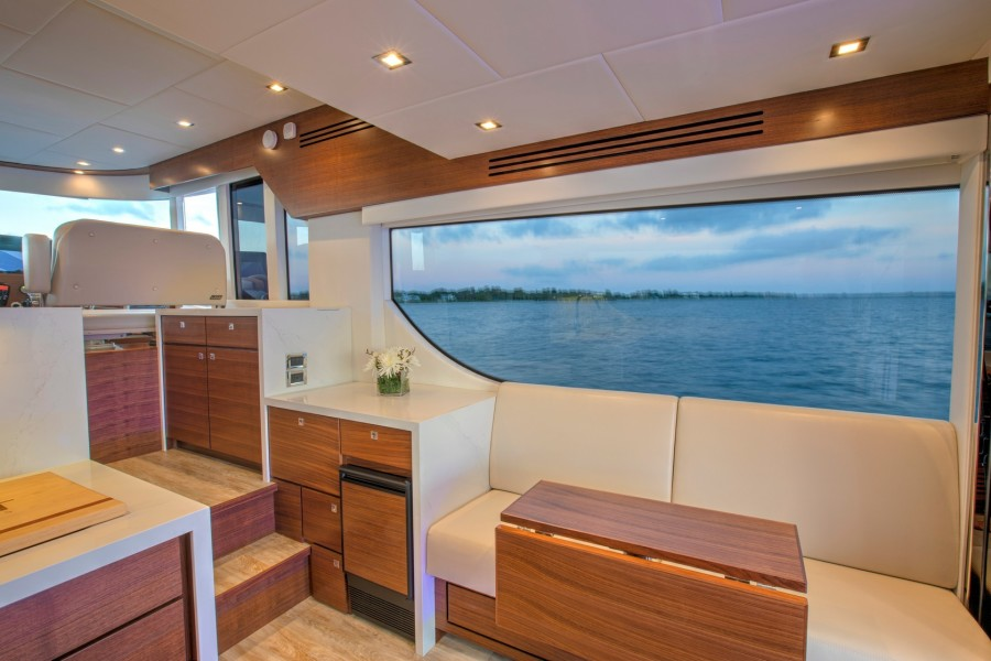 Galley Dinette and Storage