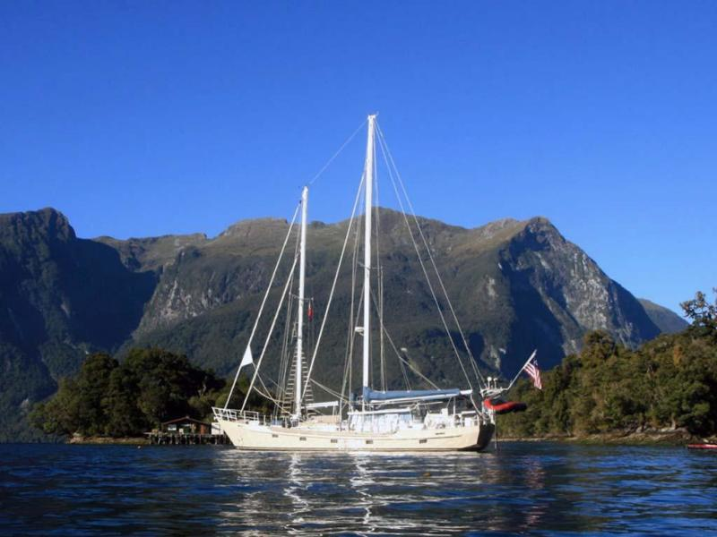 Photo of 65' Custom John Walsh Expedition Schooner 1988