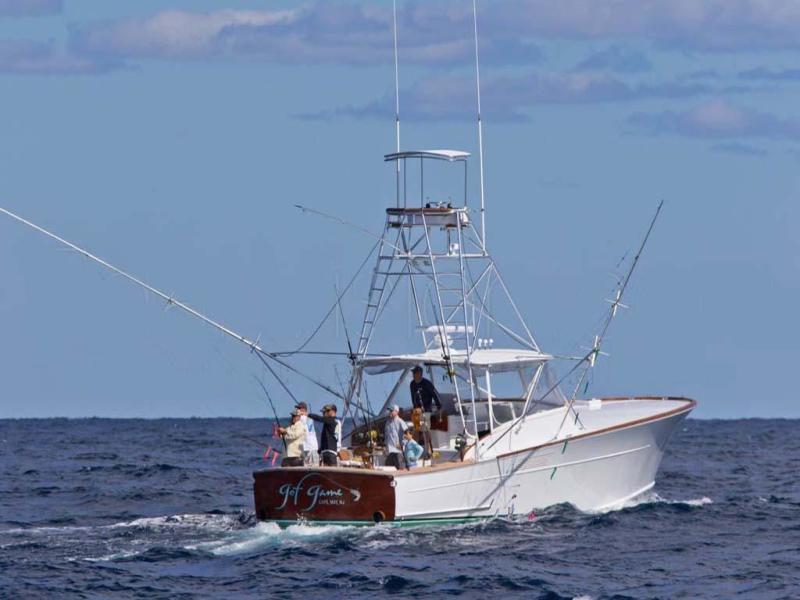 Photo of 45' Gamefisherman Custom Express 2005