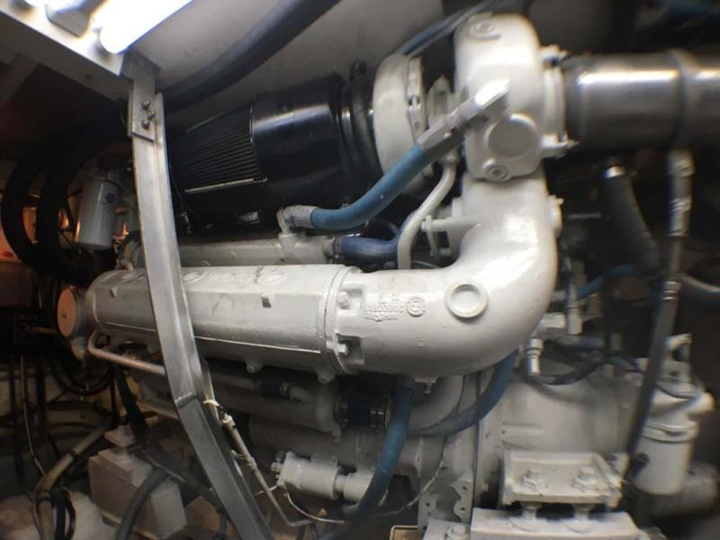 Starboard Detroit Engine