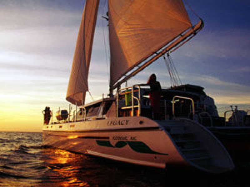 photo of 65' Woodwind Kurt Hughes Custom Catamaran 1999