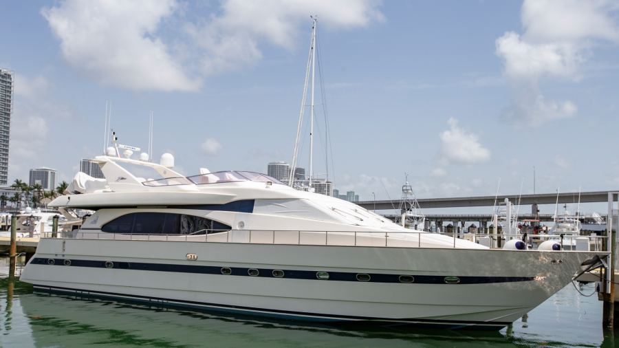 Azimut-78 Ultra Motoryacht 1996-Neama Miami Beach-Florida-United States-Profile-1417445-featured
